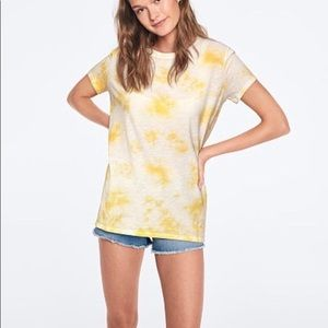 PINK Yellow Tie Dye T-Shirt